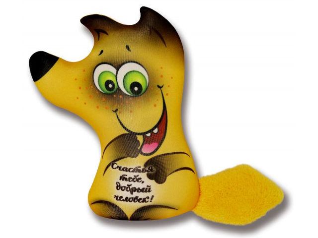 Игрушка антистресс Штучки к которым тянутся ручки Лиса открытка В ассортименте 18асо03ив