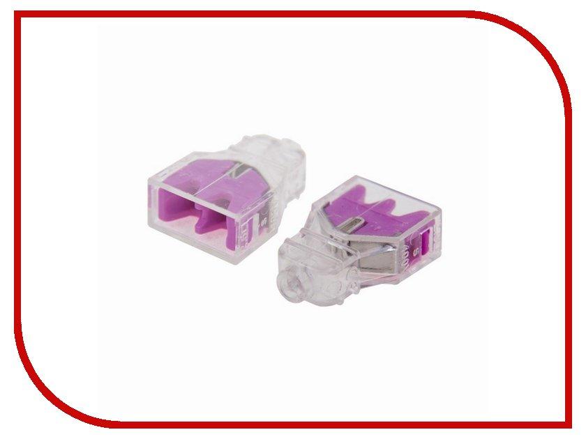 Клемма соединительная Rexant 2-x проводная 10шт 06-0210-B10