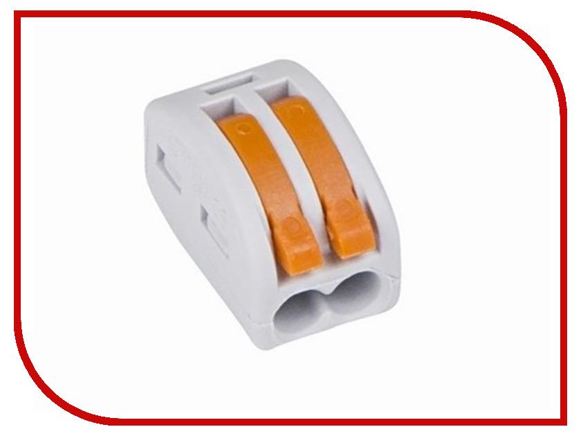 Клемма соединительная Rexant 2-х проводная многоразовая 5шт Grey 06-0200-A5