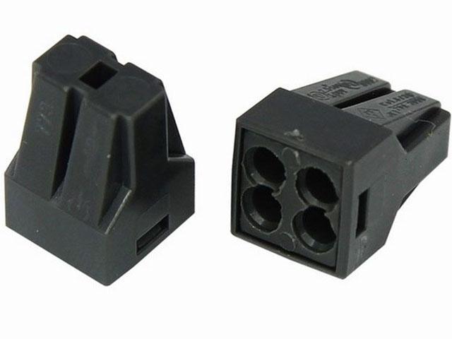 Клемма соединительная Rexant 4-х проводная с пастой 5шт 06-0207-A5