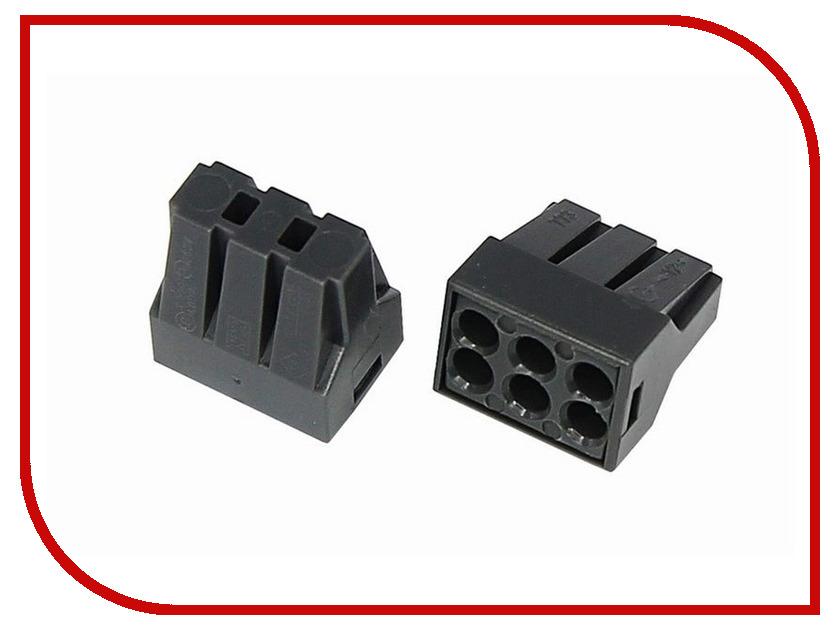 Клемма соединительная Rexant 6-и проводная с пастой 10шт 06-0208-B10