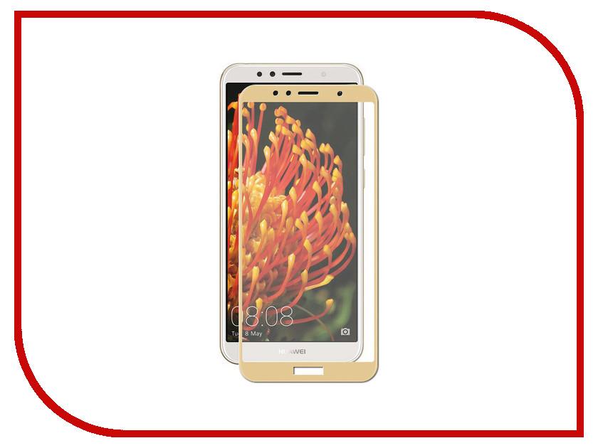 Аксессуар Защитное стекло для Huawei Y6 2018 Pero 2.5D Gold PRMG-HY618G аксессуар защитное стекло pero 2 5d для apple iphone 7 8 gold prmg i78g