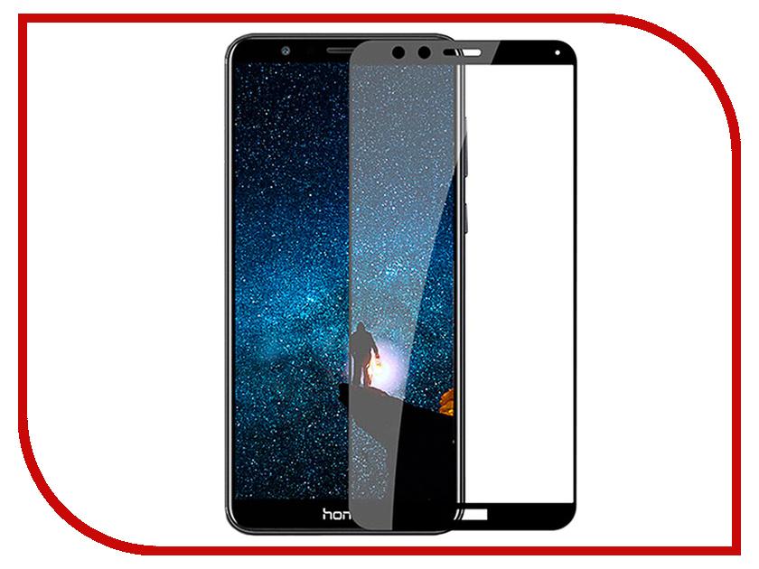 Аксессуар Защитное стекло для Huawei Honor 7X Pero 2.5D Black PRMG-H7XB аксессуар защитное стекло для huawei honor 7x pero prsg hr7x