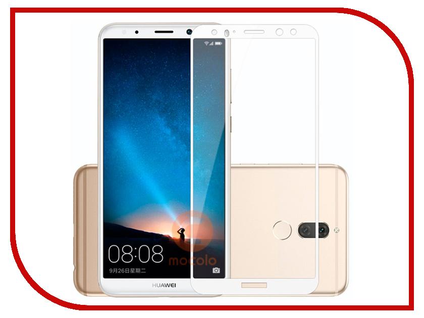 Аксессуар Защитное стекло для Huawei Honor 7X Pero 2.5D White PRMG-H7XW аксессуар защитное стекло для huawei honor 7x pero prsg hr7x