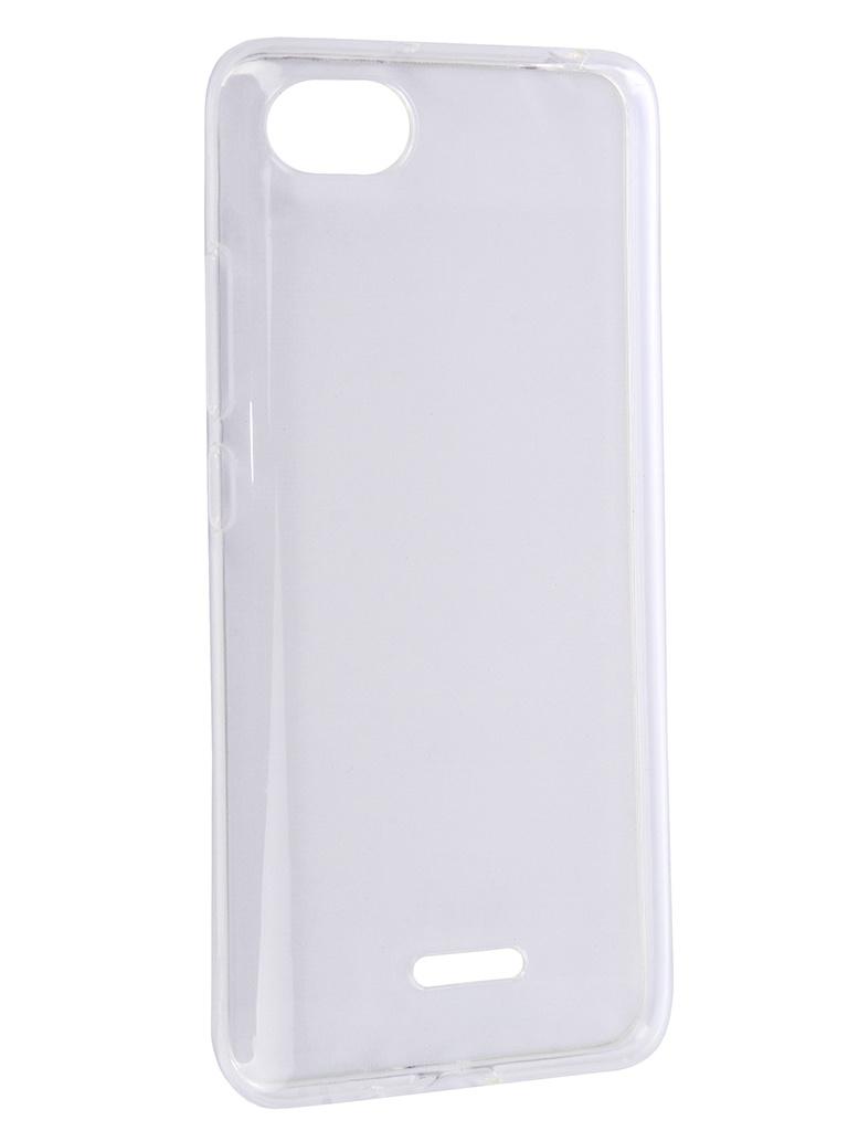 Аксессуар Чехол Svekla для Xiaomi Redmi 6A Silicone Transparent SV-XIRMI6A-WH