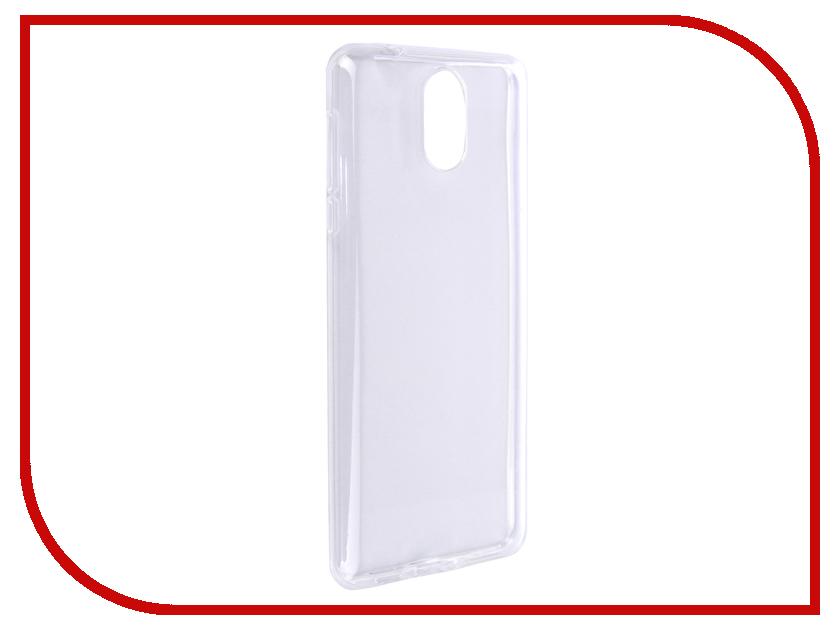 Аксессуар Чехол для Nokia 3.1 2018 Svekla Silicone Transparent SV-NO32018-WH аксессуар чехол svekla для apple iphone 5 5s se transparent sv ap5 5s wh