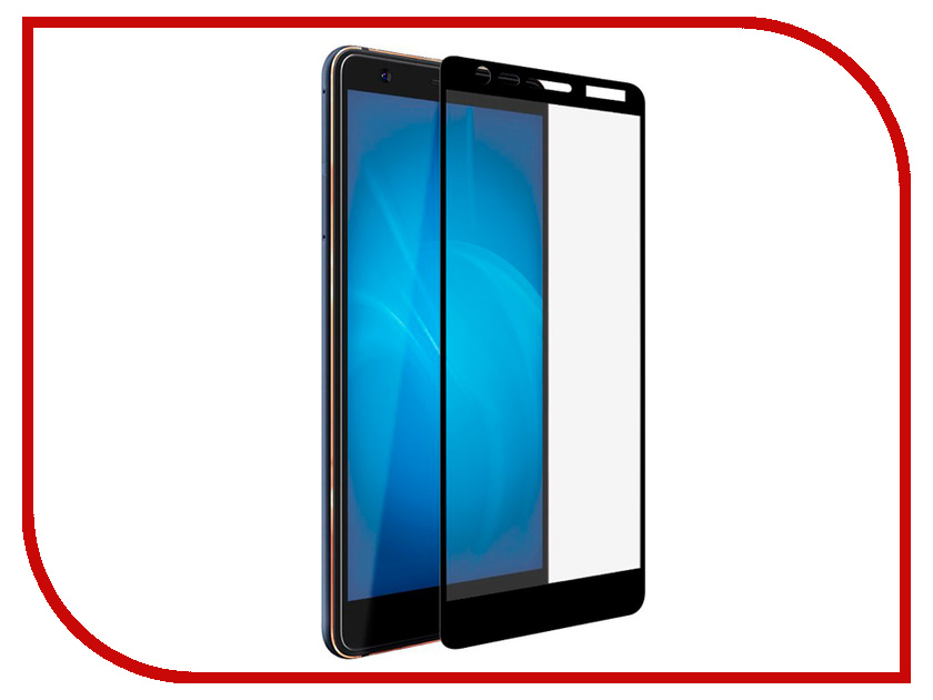 Аксессуар Защитное стекло для Nokia 3.1 2018 Svekla Full Screen Black ZS-SVNO32018-FSBL for lenovo zuk z2 lcd screen display with touch screen digitizer panel glass assembly black white replacement parts free shipping