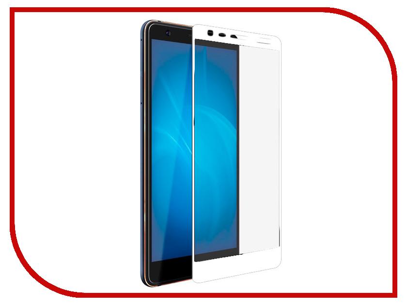 Аксессуар Защитное стекло для Nokia 3.1 2018 Svekla Full Screen White ZS-SVNO32018-FSWH аксессуар защитное стекло для huawei honor 10 svekla full screen black zs svhwh10 fsbl