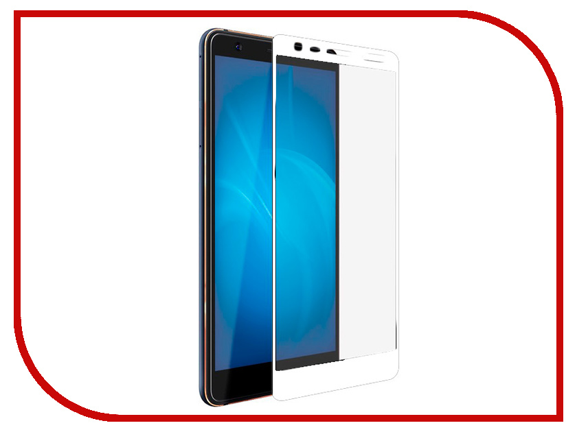 Аксессуар Защитное стекло для Nokia 3.1 2018 Svekla Full Screen White ZS-SVNO32018-FSWH аксессуар защитное стекло для meizu m5 note svekla full screen white zs svmzm5note fswh