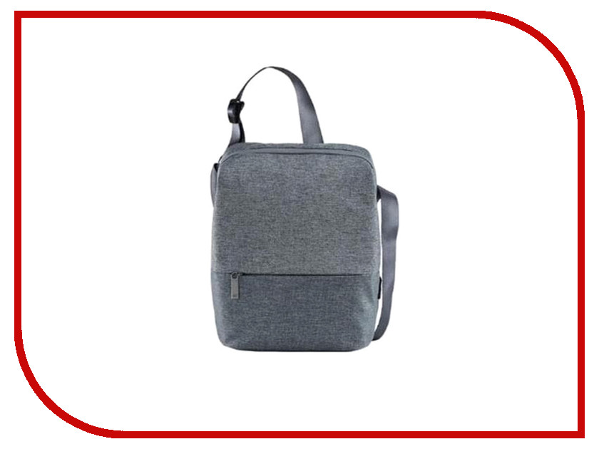 Сумка Xiaomi Mi 90 Points Basic Urban Shoulder Bag Light Grey grey sexy cold shoulder lace up bodysuit