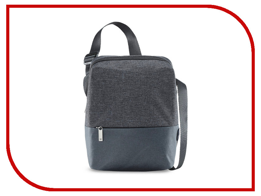 Сумка Xiaomi Mi 90 Points Basic Urban Shoulder Bag Dark Grey grey sexy cold shoulder lace up bodysuit