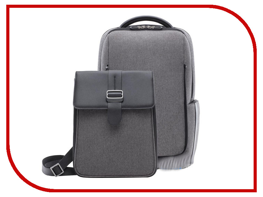 Рюкзак Xiaomi Commuter Backpack 2в1 Grey original xiaomi backpack red