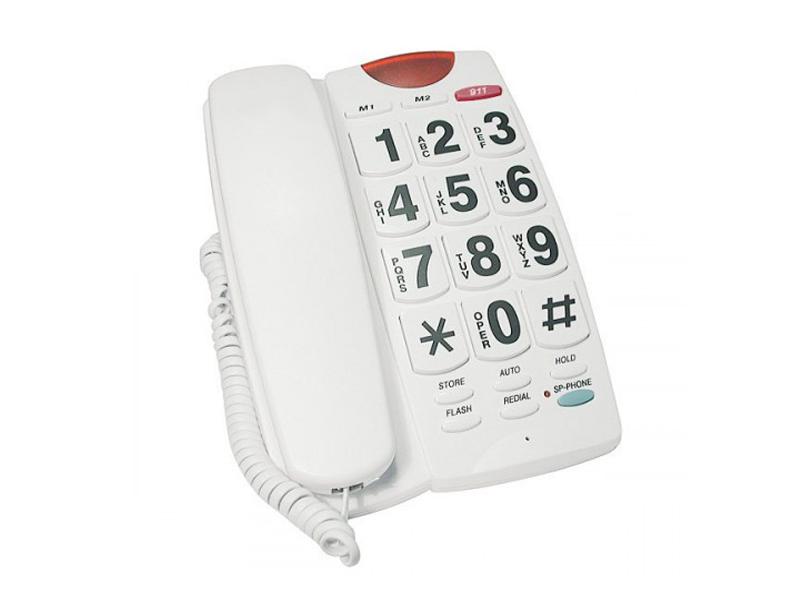 Радиотелефон Reisen для слабослышащих