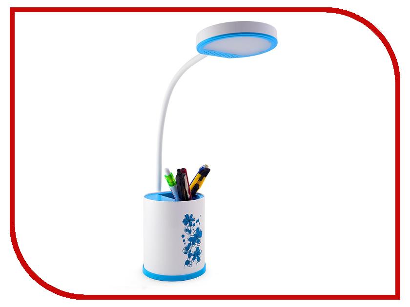 Настольная лампа Lucia L529 Light Blue настольная лампа lucia galant l520 silver