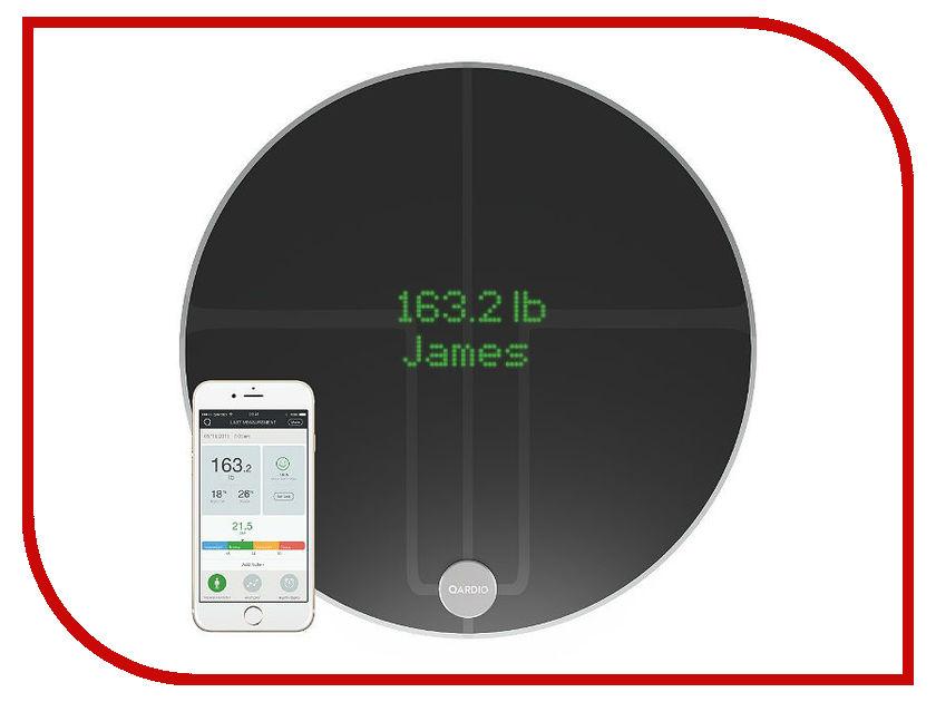 Весы напольные Qardio QardioBase 2 Black B200-IVB