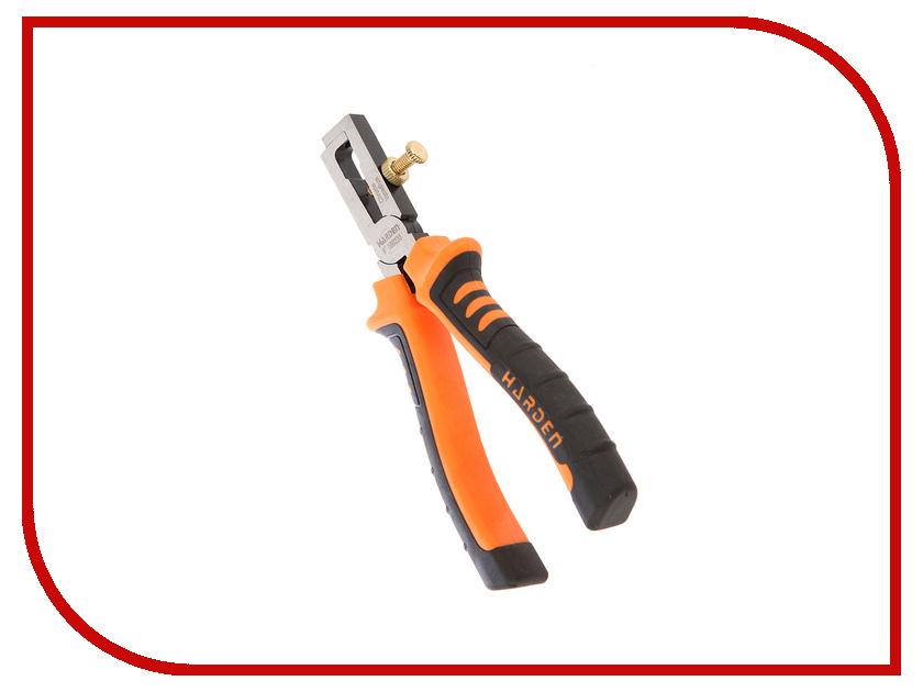 Клещи для снятия изоляции HARDEN CRV 152mm 560235 клещи для снятия изоляции с кабелей jtc 5619