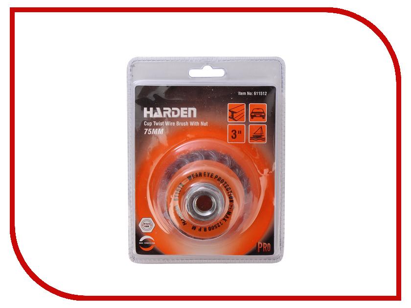 Щетка HARDEN 75mm М14Х2 611512 cctree 3d printer twinlking filament 1 75mm for creality anet tevo