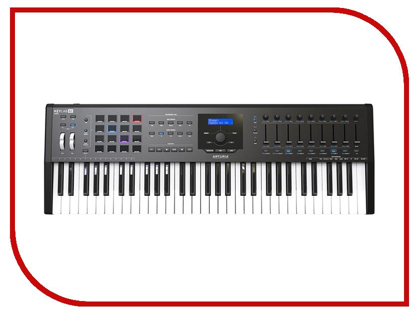 MIDI-клавиатура Arturia KeyLab MkII 61 Black arturia spark le