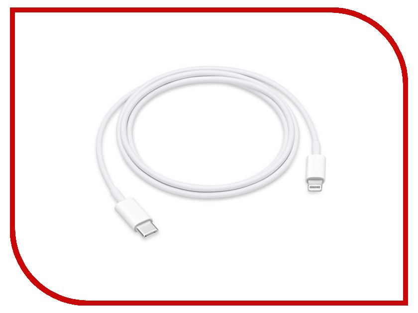 Аксессуар APPLE Lightning to USB-C Cable 1.0m MQGJ2ZM/A