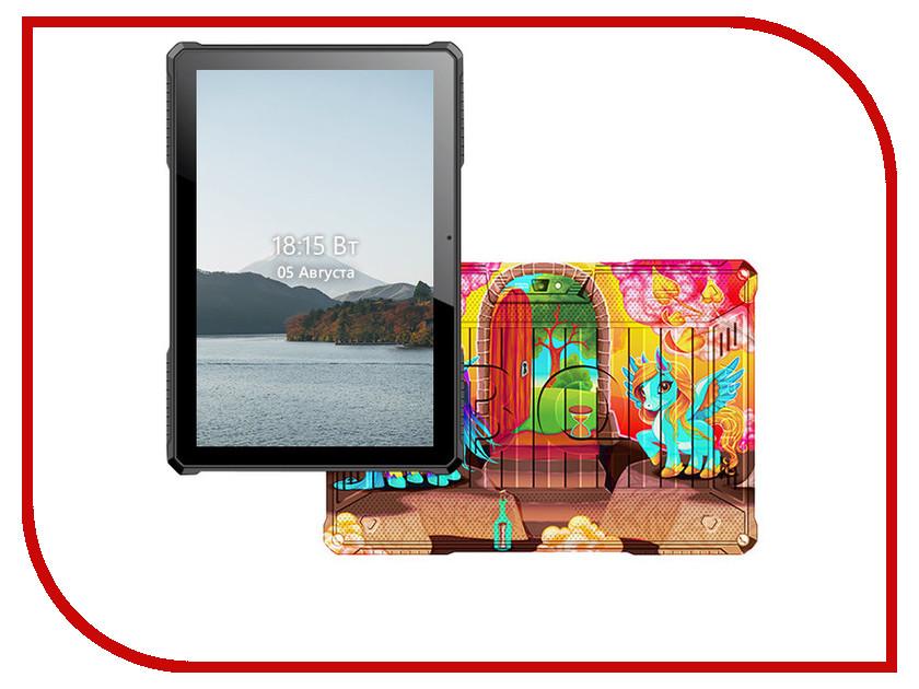 Планшет BQ 1077L Armor Pro LTE Print 13 (Spreadtrum SC9832G 1.3 GHz/1024Mb/8Gb/GPS/LTE/Wi-Fi/Bluetooth/Cam/10.1/1280x800/Android) планшет ginzzu gt 7105 silver spreadtrum sc7731 1 3 ghz 1024mb 8gb gps 3g wi fi bluetooth cam 7 0 1280x800 android