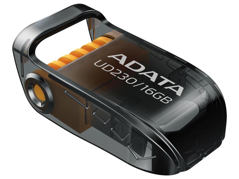 USB Flash Drive 16Gb - A-Data UD230 Black AUD230-16G-RBK цена
