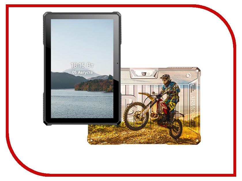 Планшет BQ 1077L Armor Pro LTE Print 09 (Spreadtrum SC9832G 1.3 GHz/1024Mb/8Gb/GPS/LTE/Wi-Fi/Bluetooth/Cam/10.1/1280x800/Android) планшет ginzzu gt 7105 silver spreadtrum sc7731 1 3 ghz 1024mb 8gb gps 3g wi fi bluetooth cam 7 0 1280x800 android