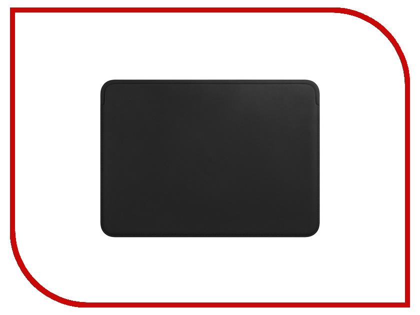 Аксессуар Чехол 13-inch APPLE Leather Sleeve для MacBook Pro 12 Black MTEG2ZM/A