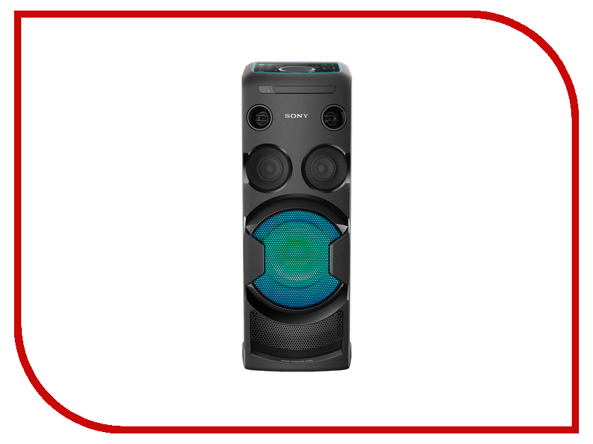 Минисистема Sony MHC-V50D пульт ду sony rm scr50 system audio mhc gx57xm