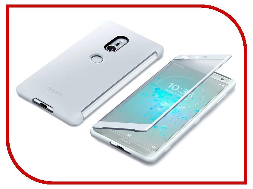 Аксессуар Чехол Sony Xperia XZ2 с окошком SCTH40 Silver sony sbh56 silver