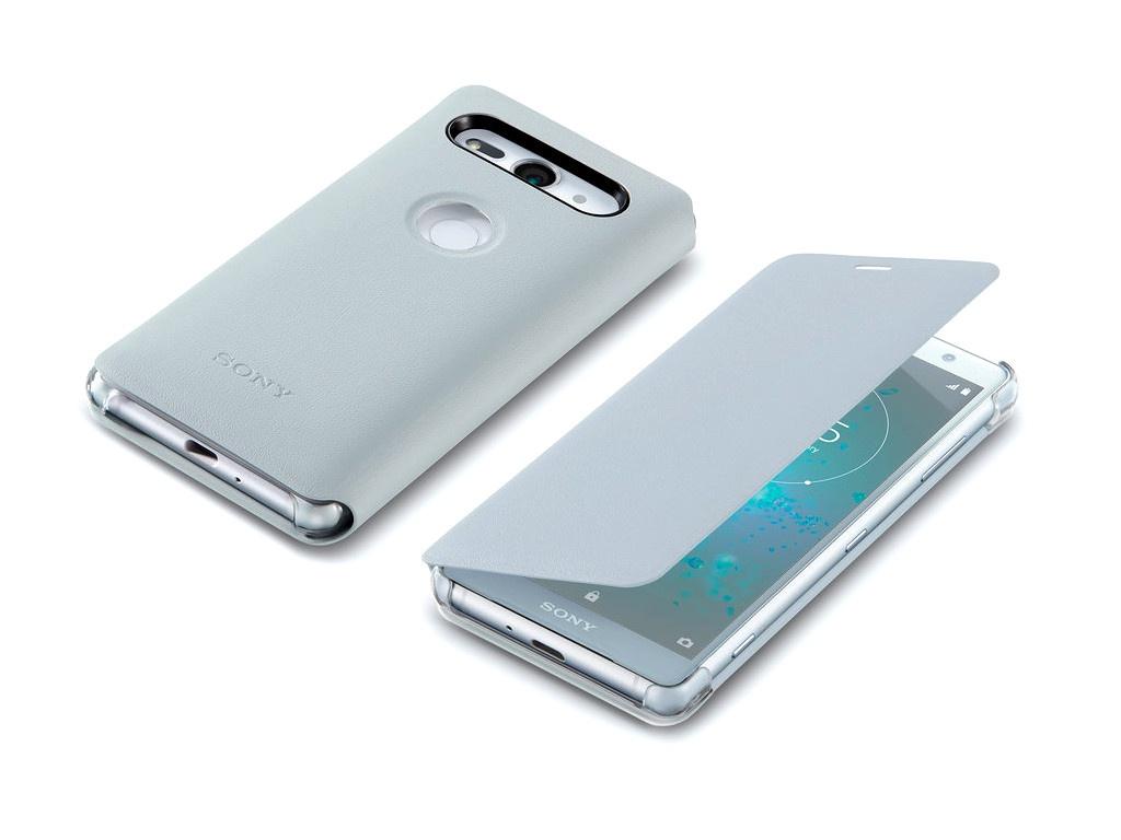 Чехол Sony Xperia XZ2 Compact SCSH50 Silver