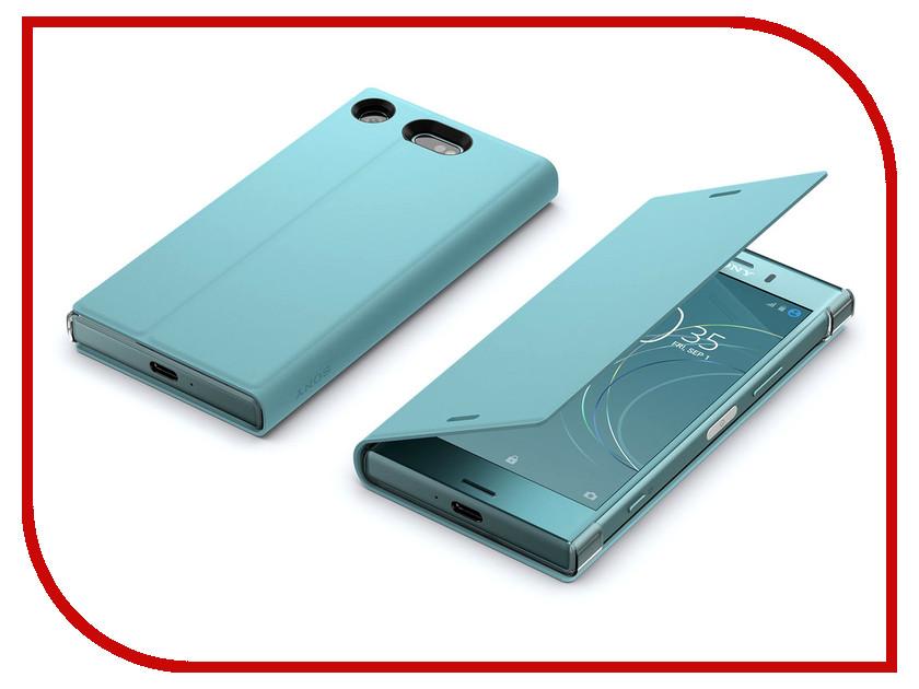 Аксессуар Чехол Sony Xperia XZ1 Compact SCSG60 Blue blue абрикос дерево дизайн кожа pu откидной крышки кошелек карты держатель чехол для sony x performance