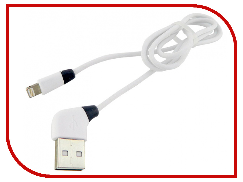 Фото - Аксессуар Walker C340 USB-Lightning for Apple iPhone 5 / 6 / 7 White аксессуар krutoff usb lightning для iphone 5 6 1m white 14265