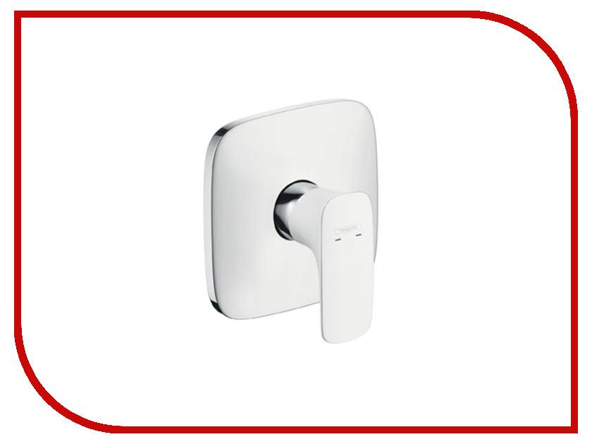 Смеситель Hansgrohe Pura Vida Chrome-White 15665400 смеситель для ванны hansgrohe puravida 15665400