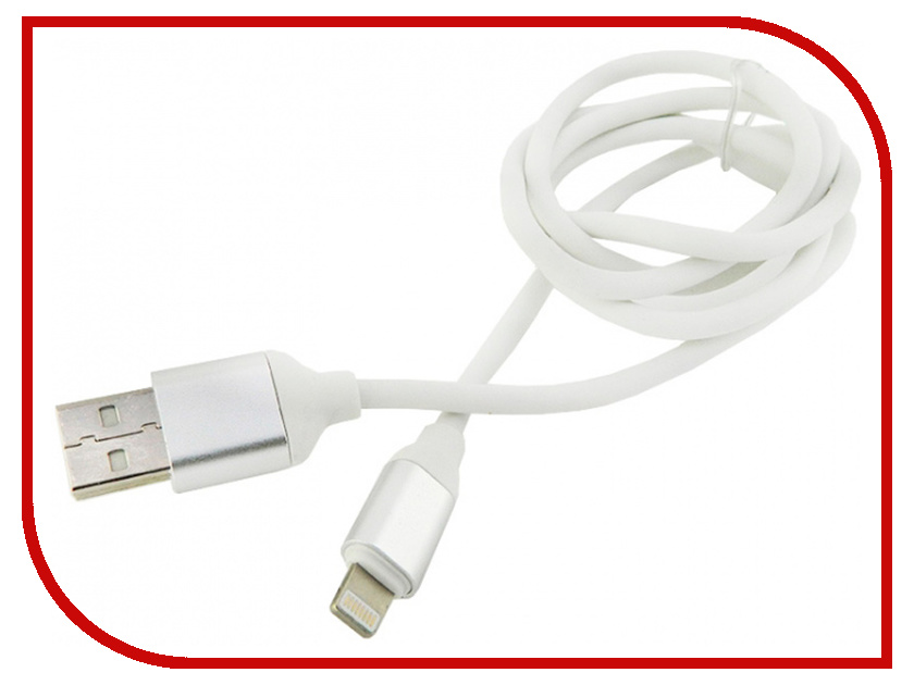 Фото - Аксессуар Walker C530 USB-Lightning for Apple iPhone 5 / 6 / 7 White аксессуар krutoff usb lightning для iphone 5 6 1m white 14265