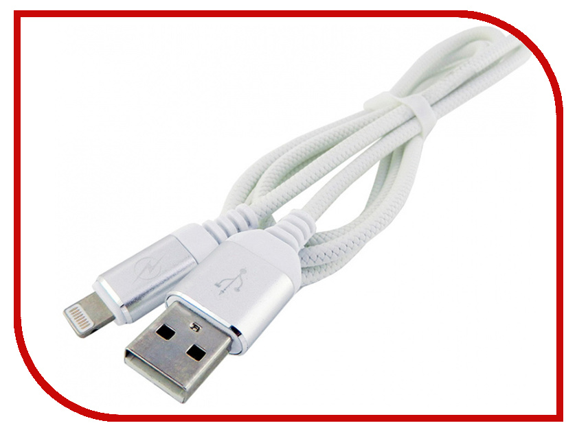 Фото - Аксессуар Walker C560 USB-Lightning for Apple iPhone 5 / 6 / 7 White аксессуар krutoff usb lightning для iphone 5 6 1m white 14265