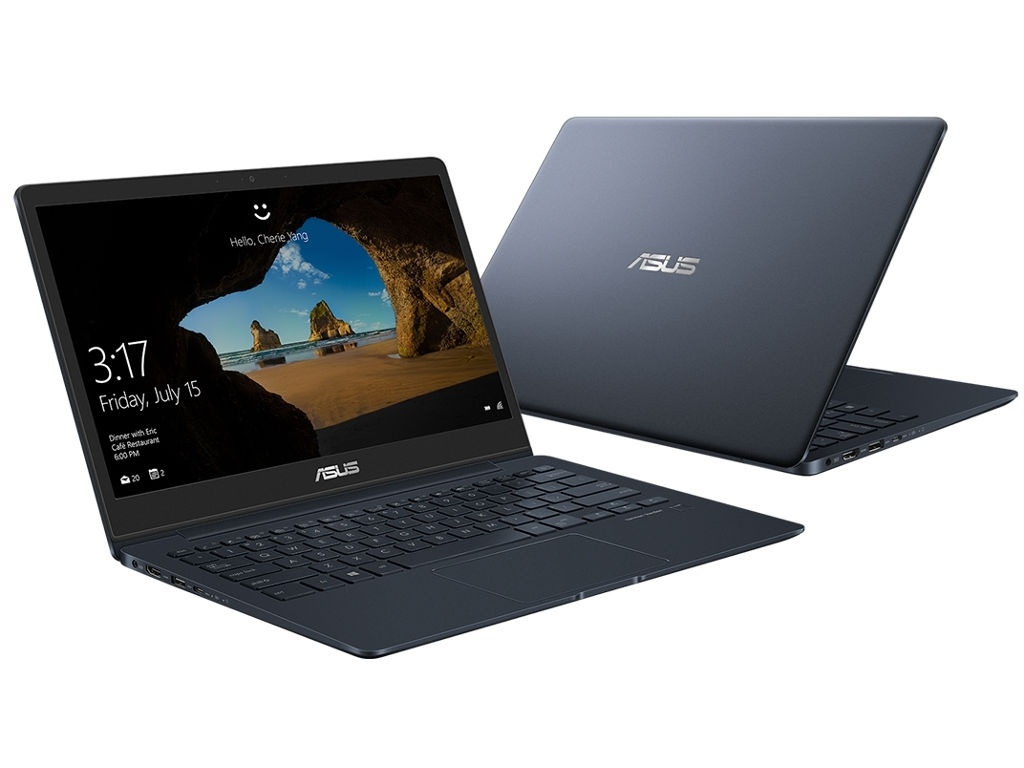Ноутбук ASUS UX331UAL-EG066R 90NB0HT3-M03280 Dark Blue (Intel Core i7-8550U 1.8 GHz/16384Mb/1024Gb SSD/No ODD/Intel HD Graphics/Wi-Fi/Bluetooth/Cam/13.3/1920x1080/Windows 10 64-bit)