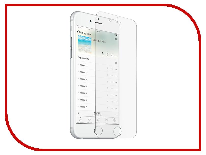 Аксессуар Защитное стекло для APPLE iPhone 8 Plus Zibelino TG ZTG-APL-IPH-8-PLS аксессуар чехол zibelino clear view для apple iphone 7 8 plus blue zcv apl 7pl blu