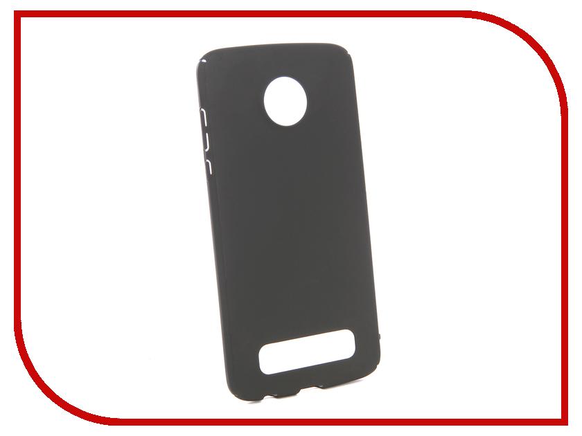 Аксессуар Чехол для Motorola Moto Z2 Play Zibelino PC Black ZPC-MOT-Z2PL-BLK чехол для для мобильных телефонов for motorola moto g2 xt1063 motorola moto g g2 for moto g 2nd gen