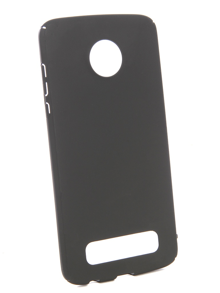 Аксессуар Чехол Zibelino для Motorola Moto Z2 Play PC Black ZPC-MOT-Z2PL-BLK