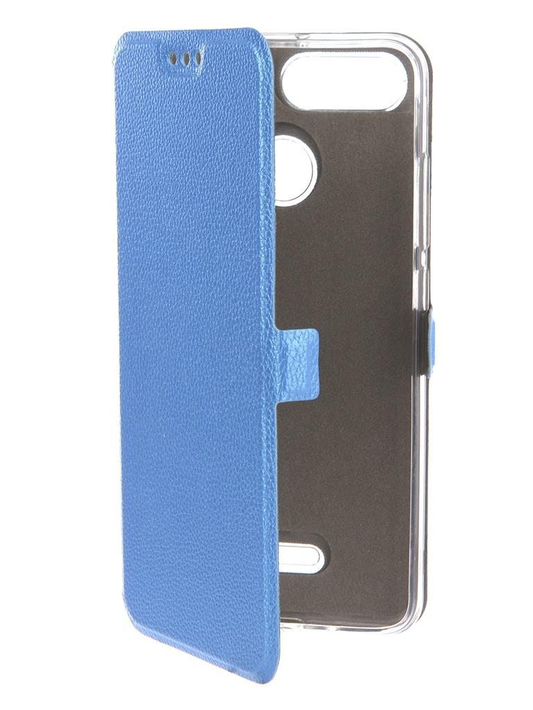 Аксессуар Чехол Zibelino для Xiaomi Redmi 6 Sottile Silicon Blue ZSS-XIA-6-BLU