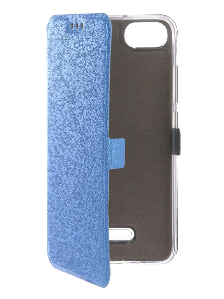 Аксессуар Чехол Zibelino для Xiaomi Redmi 6A Sottile Silicon Blue ZSS-XIA-6A-BLU