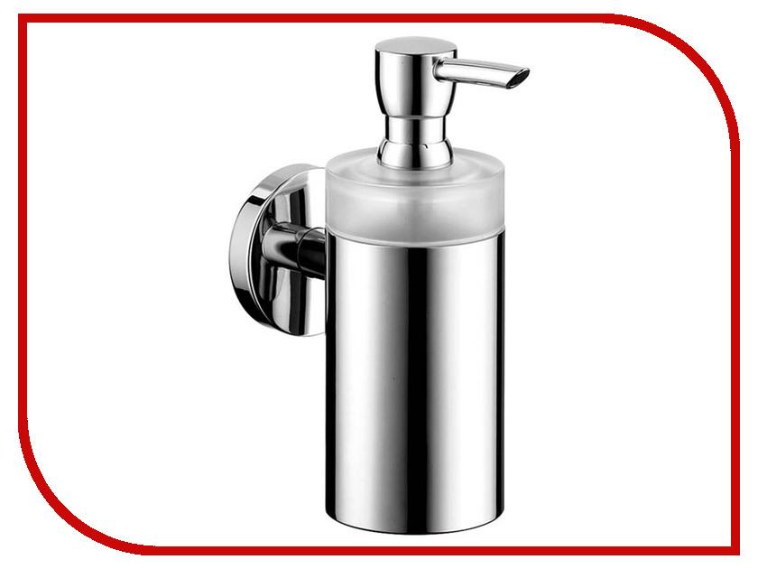 Дозатор Hansgrohe Pura Vida 125ml для жидкого мыла Chrome-White 41503000 freeplus 125ml