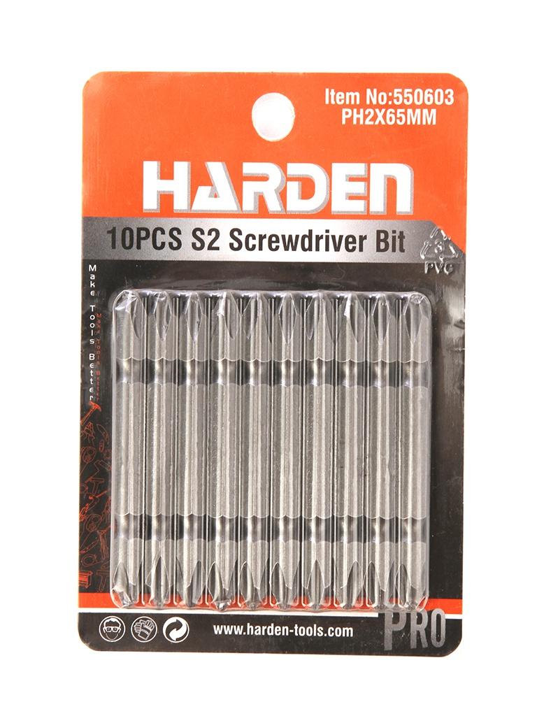Набор бит Harden 10шт 550603