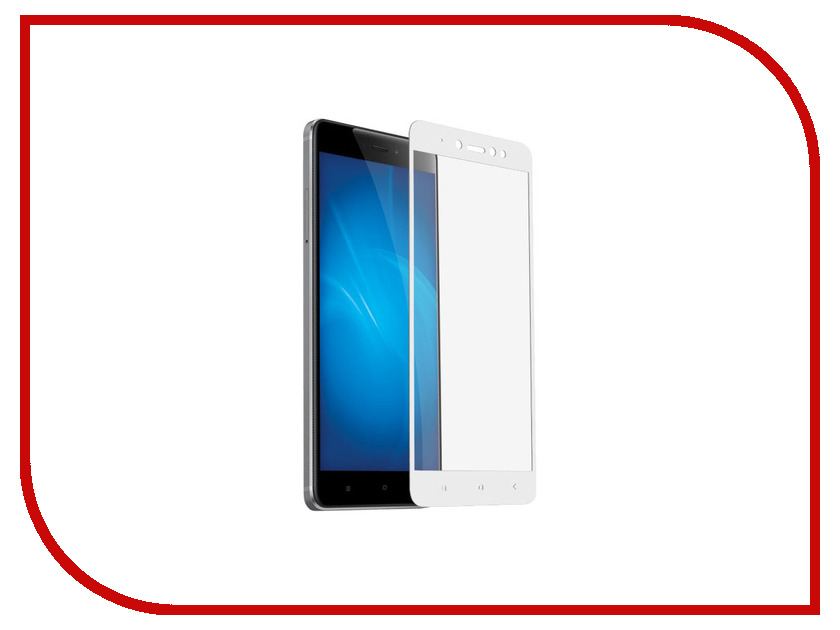 Аксессуар Закаленное стекло для Xiaomi Redmi Note 5A / Note 5A Prime DF Full Screen+Full Glue xiColor-18 White 20pcs free shipping bd139 d139 to 126 npn 1 5a 80v npn epitaxial triode transistor new original