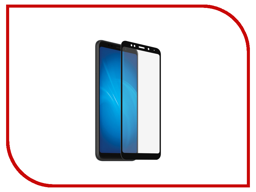 Аксессуар Закаленное стекло для Xiaomi Redmi 5 Plus DF Full Screen xiColor-37 Black tested original 5 15 inch black white golden 1920x1080 display for xiaomi 5 mi 5 mi5 m5 lcd with touch screen replacement