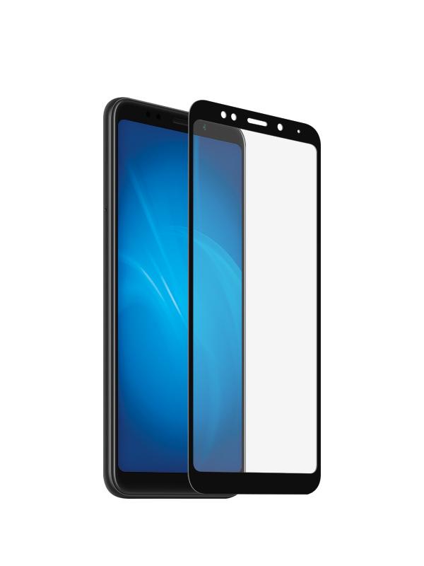 Аксессуар Закаленное стекло DF для Xiaomi Redmi 5 Plus Full Screen xiColor-37 Black закаленное стекло df xicolor 23 с цветной рамкой для xiaomi redmi 5 plus белый