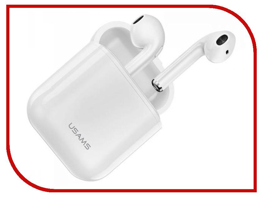 Usams LC Bluetooth Series F-10 White usams ep 19 white