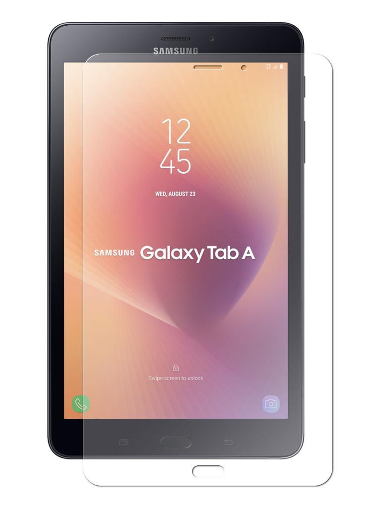 Закаленное стекло DF для Samsung Galaxy Tab A 8.0 SM-T385 sSteel-63 аксессуар закаленное стекло samsung galaxy note 5 df ssteel 48