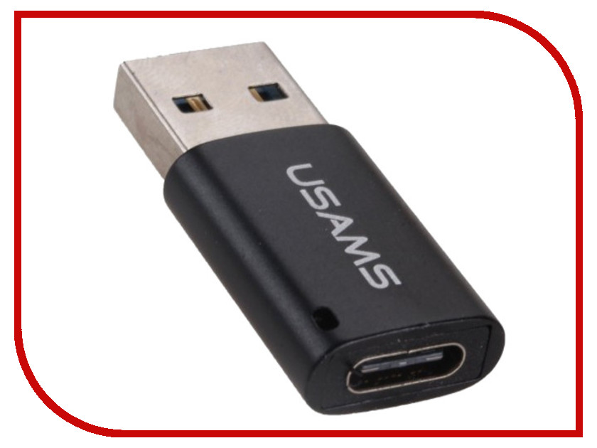 Аксессуар USAMS US-SJ172 USB 3.0 - Type-C 3.0 Black аксессуар usams u link series us sj133 usb microusb magnet cable black