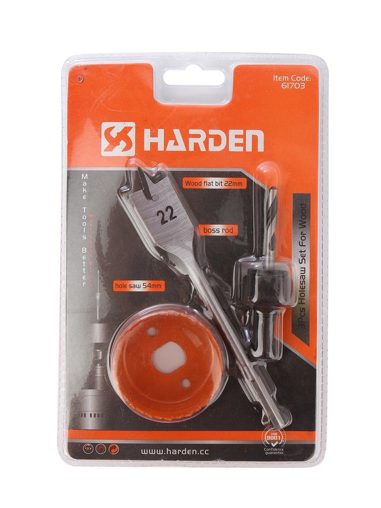 Набор для установки врезных замков Harden 610541